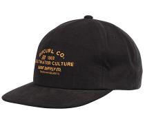 Supply Co Snapback Cap - Schwarz