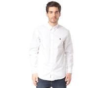 Madison L/S - Hemd - Weiß