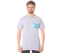 Castro Pocket - T-Shirt - Grau