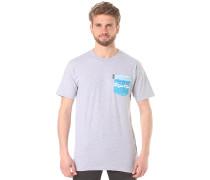 Castro Pocket - T-Shirt - Grau