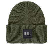 Melange Mütze - Grün