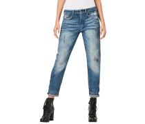3301 Mid Waist Boyfriend - Jeans - Blau