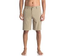 Union Plaid Amphibian 21 - Shorts - Beige