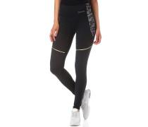 Fluid Colour Block - Leggings - Schwarz