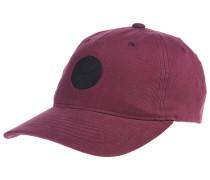 Dad Cotton Twill Snapback Cap - Rot