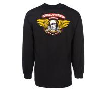 Winged Ripper - Langarmshirt - Schwarz