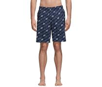 Monogram - Boardshorts - Blau
