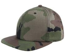 Fabric Snapback Cap - Camouflage