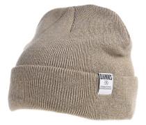 RBB Basic Melange Mütze - Beige