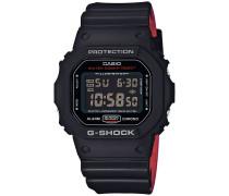 DW-5600HR-1ER Uhr - Schwarz