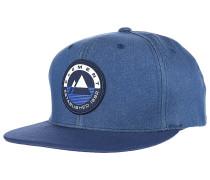 Crest - Snapback Cap - Blau