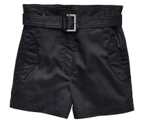 Rovic High Paperbag - Chino Shorts - Schwarz