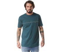 Möwe Lines - T-Shirt - Blau