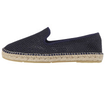 Loafer Mesh - Espadrilles - Blau