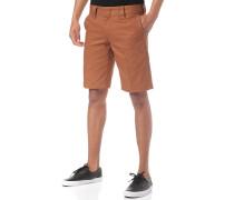 Ct873S - Chino Shorts - Braun