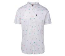 Flamingo - Hemd - Weiß
