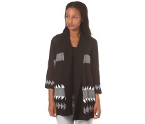 Woodland - Strickjacke - Schwarz