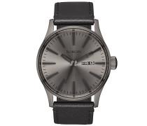 Sentry Lthr - Uhr - Grau