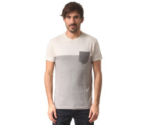Block Pocket - T-Shirt - Grau