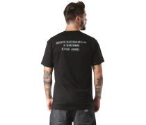 X Baker - T-Shirt - Schwarz