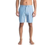 Union Pinstripe Amphibian 19 - Shorts - Blau
