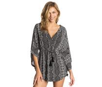 Black Sands Kimono - Bluse - Schwarz
