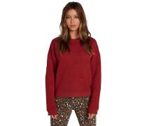 Eachis Stone Crew - Sweatshirt - Rot