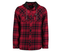 Violator Hooded Flannel - Hemd - Rot
