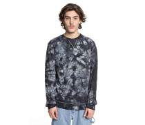 Evan Crew Fleece - Sweatshirt - Schwarz