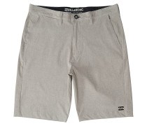 Crossfire X - Shorts - Grau