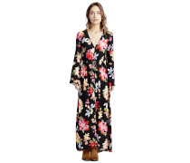 Desi Kimono - Kleid - Schwarz