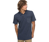 SHD Stripe - Polohemd - Blau