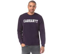 College - Sweatshirt - Lila