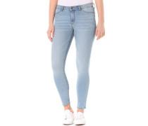 Mid Spray - Jeans - Blau