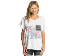 Graphic Raglan - T-Shirt - Weiß