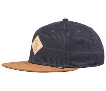 6P SB Glencheck 2.0 Snapback Cap - Grau