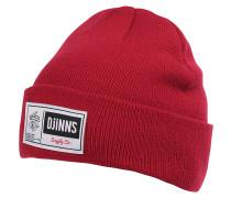 Big Label Mütze - Rot