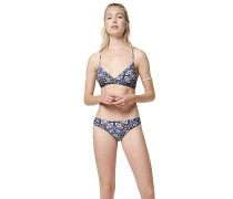 Baay Maoi Print - Bikini Set - Blau