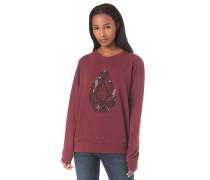 Sound Check Fleece - Sweatshirt - Rot