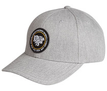 Walled Snapback Cap - Grau