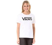 Flying V Crew - T-Shirt - Weiß