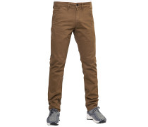 Flex Tapered - Stoffhose - Braun