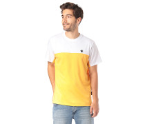 Block - T-Shirt - Gelb