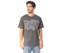 Leaves - T-Shirt - Grau