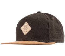 6P SB Light Canvas Snapback Cap - Grün