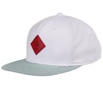 6P SB Super Twill Snapback Cap - Weiß