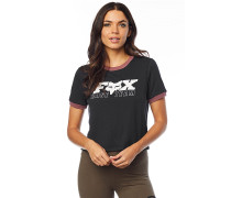 Race Team Crop - T-Shirt - Schwarz