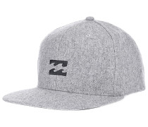 All Day Heather - Snapback Cap - Grau