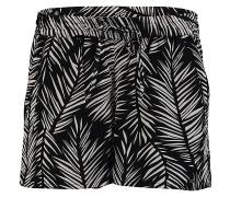 Allover Print - Shorts - Schwarz