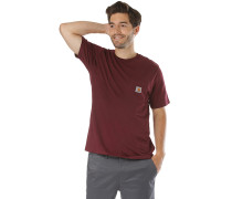 Pocket - T-Shirt - Rot